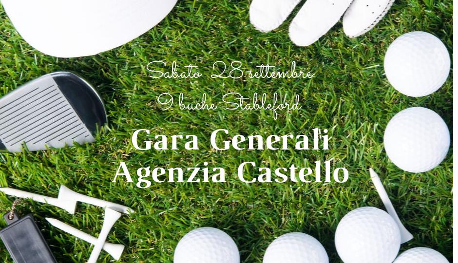 Gara Generali Agenzia Castello